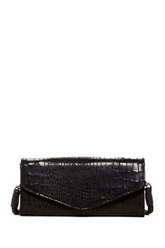Doro Croc Print Suede Clutch by Liebeskind Berlin on @nordstrom_rack