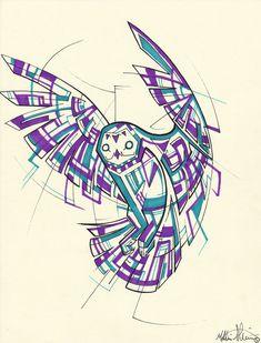 geometric dragon tattoo - Buscar con Google