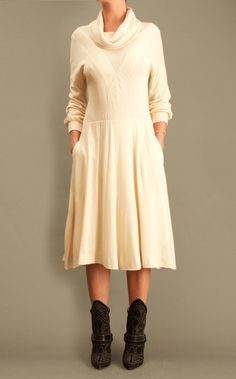 Vintage Natural White Dress https://www.etsy.com/listing/252236668/vintage-natural-white-dress