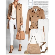 Work road by monmondefou on Polyvore featuring Burberry, Proenza Schouler, Gianvito Rossi, Gucci, Miu Miu and GetTheLook