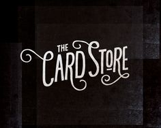 Card Store Logo - Nina Hunter - Portfolio of Work