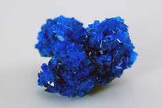 Chalcanthite Crystal  Lab Created by RhodopeMinerals on Etsy