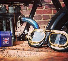 3cc91ae92ea Mark 49 Goggles - antique black. Motorcycle GogglesBiker HelmetsHelmet  Accessories