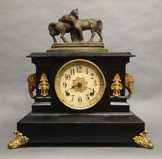 75: Ansonia mantle clock