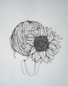 Botanical Art, Line Drawing, Modern Art, Sunshine, Anna, Photo And Video, Wall Art, Videos, Photos