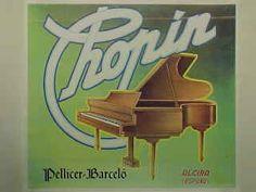 """Naranjas """"Chopin"""" Pellicer - Barceló.  Alzira. De la Colección del Museo de la Naranja.  Burriana (Castellón) España"""