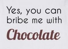 Bribe me with Belfine chocolate (www.belfine.com)!
