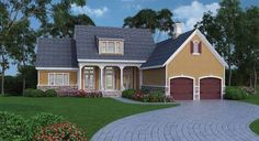 ePlans Country House Plan – Open And Airy –1806 Square Feet and 3 Bedrooms from ePlans – House Plan Code HWEPL76488