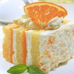 Creamsicle Cake Recipe | Key Ingredient