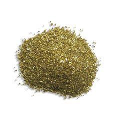 1 oz German Glass Glitter in Gold ~ Fine Grit