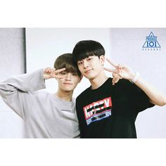 - Lee Daehwi(이대휘) with yoo seon ho(유선호) Boys Who, My Boys, Yoo Seonho, Produce 101 Season 2, Lee Daehwi, Seong, 3 In One, South Korean Boy Band, Lineup