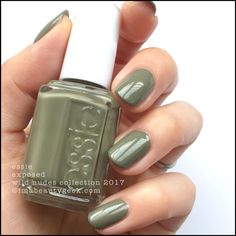 Essie Exposed _ Essie Wild Nudes Collection 2017 Swatches Review