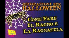 Decorazioni Per Halloween DIY - Il Ragno e La Ragnatela - La Televisione...