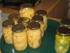 KWEPERS INGEMAAK Afrikaans, Pickles, Cucumber, Mason Jars, Food, Essen, Mason Jar, Meals, Pickle