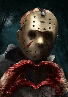 "geteiltes-leid-und-gleichgesinnt: "" Jason Voorhees by Kid-Eternity "" Arte Horror, Horror Movie Characters, Horror Movies, Happy Friday The 13th, Friday The 13th Memes, Horror Icons, Jason Voorhees, Halloween Horror, Scary Movies"