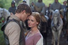 Max Irons as Edward IV and Rebecca Ferguson as Elizabeth Woodville in ' The White Queen' (2013). Description from pinterest.com. I searched for this on bing.com/images