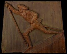 Eemil Halonen (1875-1950) Hiihtäjä / Skier 1899 - Finland