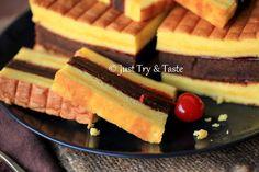 Resep cake lapis surabaya super moist Pastry Recipes, Baking Recipes, Cake Recipes, Dessert Recipes, Lapis Surabaya, Bolu Cake, Resep Cake, Traditional Cakes, Asian Desserts