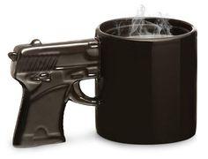 Gun Styled Mug - my friend Tabatha will know why I pinned this!