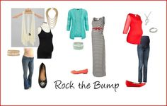 Picture Day Outfit Ideas | Maternity #rockthebump #babybump #maternity