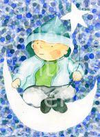 www.santitoschilenos.blogspot.com diseños originales Victoria Achurra Snow Globes, Victoria, Logos, Home Decor, Christening, The Originals, Drawings, First Holy Communion, Decoration Home