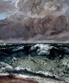 gustave courbet, the wave 1869