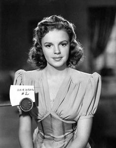 """Judy Garland costume test for """"Babes on Broadway"""""""