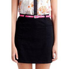 Fusta Dama VERO MODA Lola Short Black Waist Skirt, High Waisted Skirt, Skirts, Black, Fashion, Moda, High Waist Skirt, Black People, Skirt