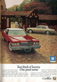 1976 Cadillac Seville Coupe deVille Advertisement Readers Digest November 1975