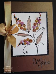 Crafty Debs: Coming Soon to a Store Near You. Dots Candy, Leaf Cards, Candy Cards, Flower Stamp, Kids Cards, Homemade Cards, Stampin Up Cards, Making Ideas, Birthday Cards