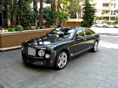 Supercars are all well and good, but what about something posh? The Bentley Mulsanne is a great choice. Understated and elegant, yet powerful and luxurious. It's the best of both worlds.