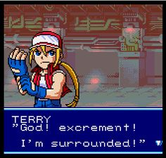 Bison II WinQuote — - Terry Bogard in arcade mode, SNK vs Capcom: The...