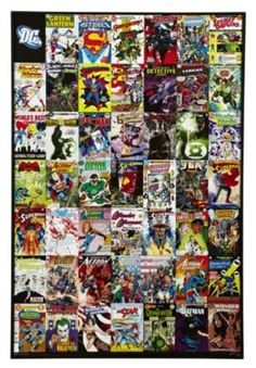Dc Comics Wall Art the heart and soul of the dc universe come together in this