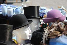 Kongens Nytorv flea market in Copenhagen