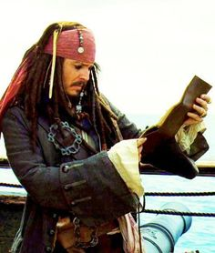 Captain Jack Sparrow Reading