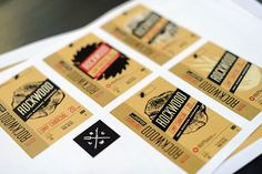 Rockwood Charcoal Packaging on Behance