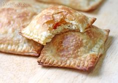 Pastelzinho Folhado de Ricota ~ PANELATERAPIA - Blog de Culinária, Gastronomia e Receitas