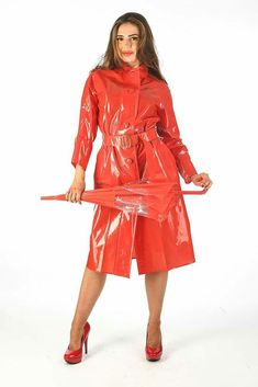 Rain Wear, Greatest Hits, Trench, Raincoat, Leather Jacket, Hot, Sexy, Girls, How To Wear