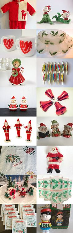 Let's Have a Kitsch Christmas  by Betty J. Powell on Etsy--Pinned with TreasuryPin.com