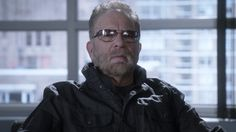 """Ronnie Mund on the set of """"Limitless"""" Howard Stern Show, Louis Ck"""