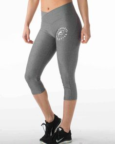 Women's Cropped Legging - Gray *Heathered