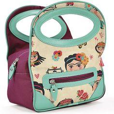 Esta bolsa térmica é ótima para você levar a sua comida para o trabalh... Fabric Purses, Fabric Bags, Pencil Case Pouch, Best Lunch Bags, Carpe Diem, Bag Packaging, Snack Bags, Clutch Wallet, Purses And Handbags