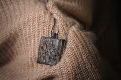 Historical black oak dated for XIV century. Pendant model no 4.