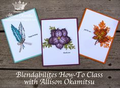 nice people STAMP!: Blendabilities How-To Class