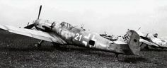 Messerschmitt Bf 109G6 erla 4.JG52 (W21+-) WNr 464549 Hungary 1945