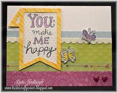 Krista's Crafty Corner: You make me Happy - Joyful Stars Blog Hop
