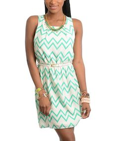 I like this minus the necklace and maybe a different colored belt