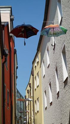 Love this artsy street in Passau, Germany | Ashley Colburn Germany