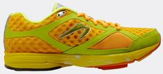 I wish it wasn't such a crazy color. Nevertheless after reading a Runner's world article about the Newton running shoe I really want one. Pricetag: $175