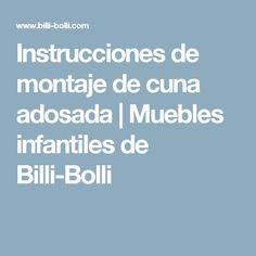 Instrucciones de montaje de cuna adosada | Muebles infantiles de Billi-Bolli